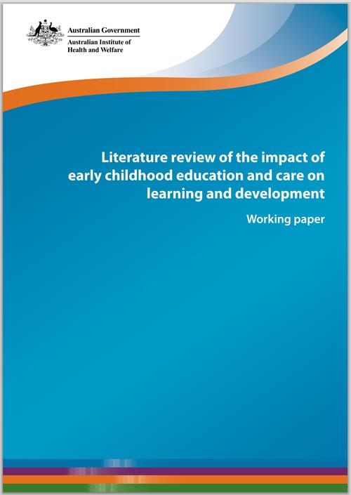 the importance of literature tool in early childhood education development