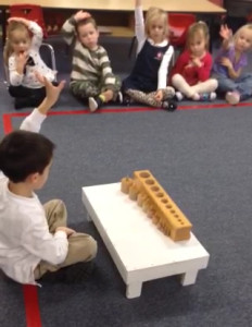 montessori kindergarten demonstration