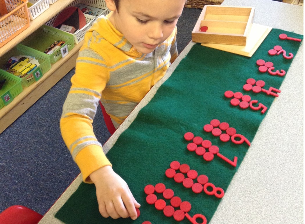 montessori math preschool | AppleMontessoriSchools.com