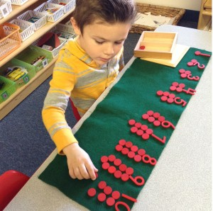 montessori math preschool