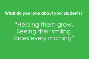 What do you love about your students? Apple Montessori Professional Development Day