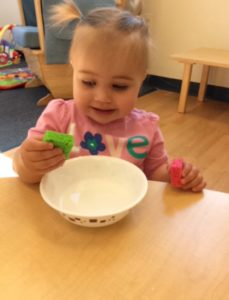 weaning table play